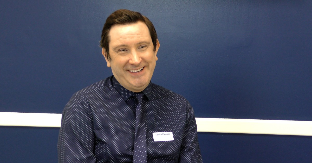 Optical Express clinic manager anthony