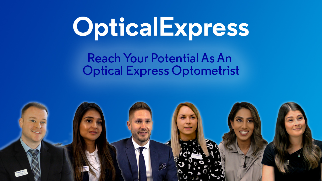 reach your potential as an optical express optometrist